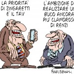 zingaretti-renzi-vignetta-franzaroli-06032019